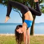 Yoga portait by Joe Clark www.glasslakesphotography.com