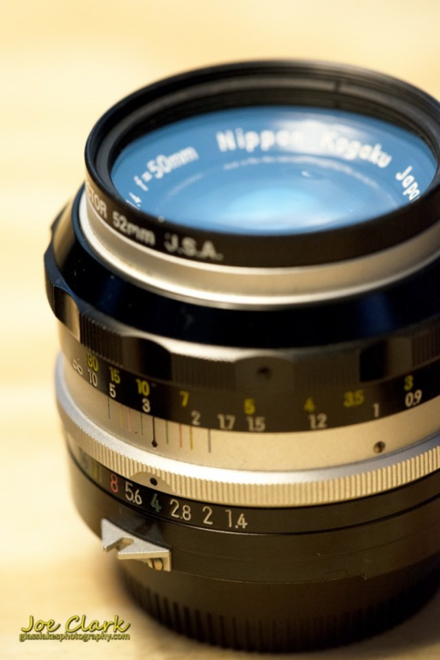 My old 50mm 1.4 by Joe Clark www.glasslakesphotography.com