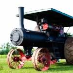 Steam engine tractor by Joe Clark.