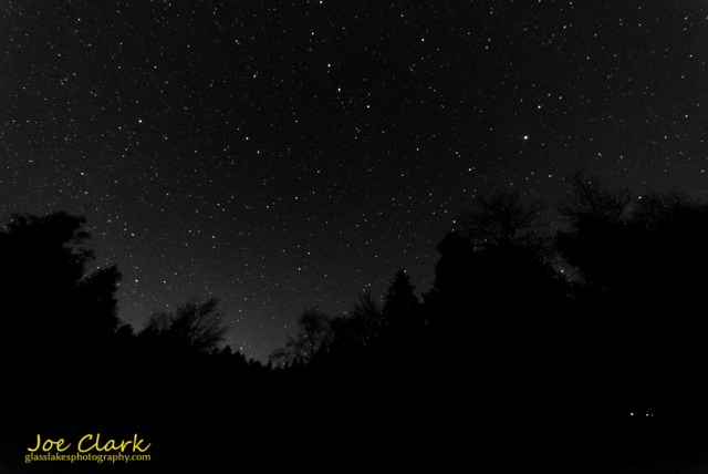 headlands, emmet county, michigan, dark sky park, stars, night, sky,