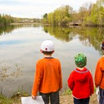 Petoskey photographer Joe Clark little traverse conservancy children birding