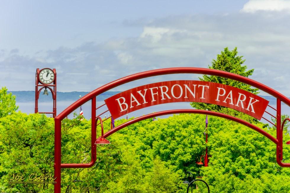 Bayfront Park downtown Petoskey northern michigan photographer Joe Clark