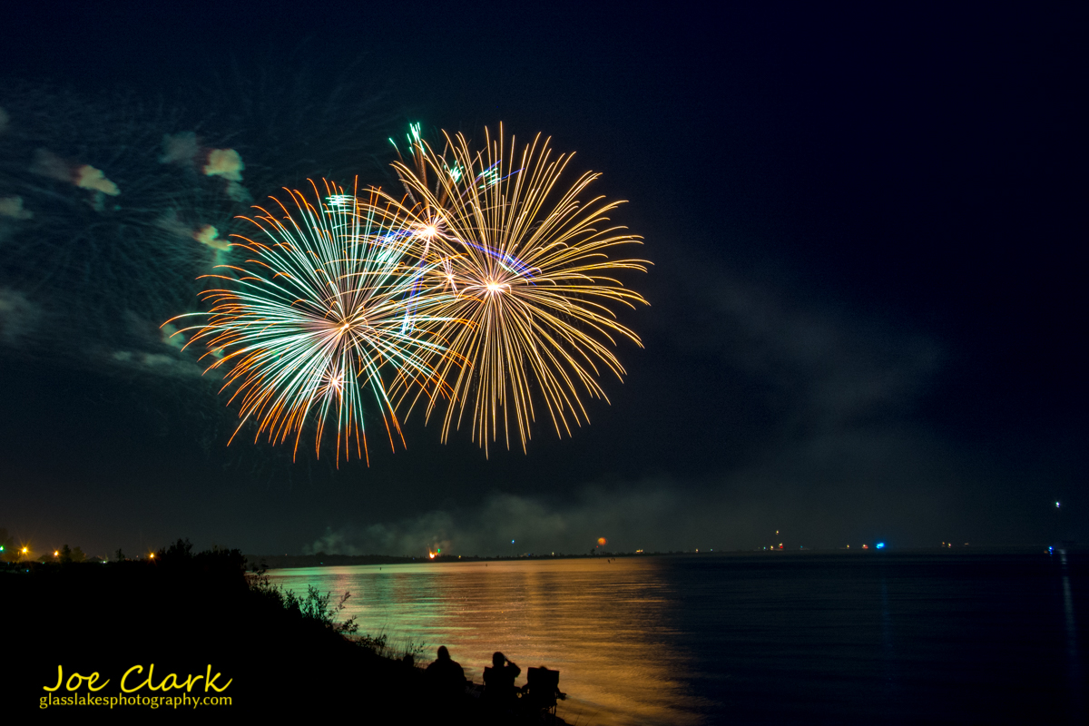 Fireworks Ludington Michigan Photographer Joe Clark
