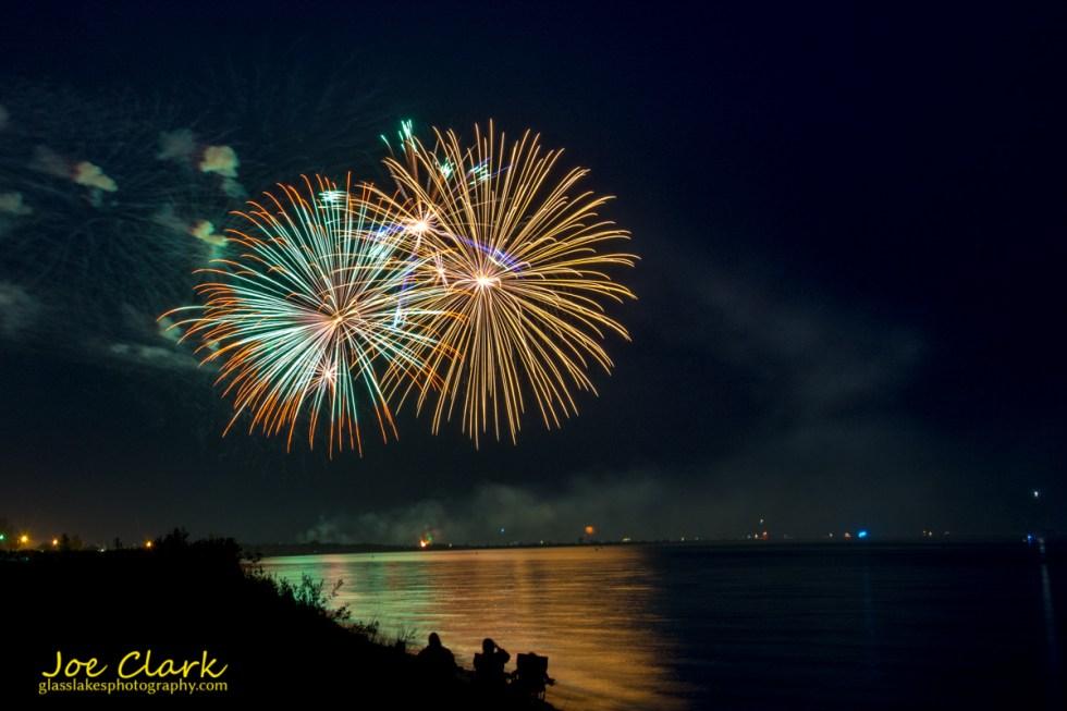 Fireworks Ludington Michigan Photographer Joe Clark