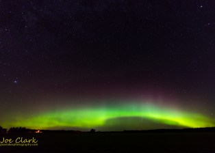Northern Lights gaylord photographer Joe Clark