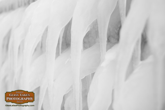 Ice formations at Bay Harbor Petoskey Photographer Joe Clark