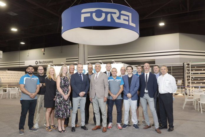 Forel Glass Build America 2019 Exhibition