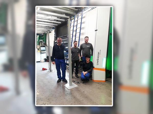 Successful LineScanner installation at INTERPANE Glasgesellschaft