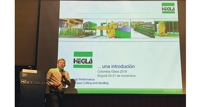 Hegla at Colombia Glass 2019