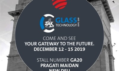 Mappi Glass Tempering Furnace ZAK India Exhibition