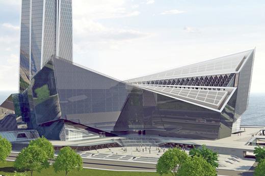 Sedak Glass: Laktha Center Russia