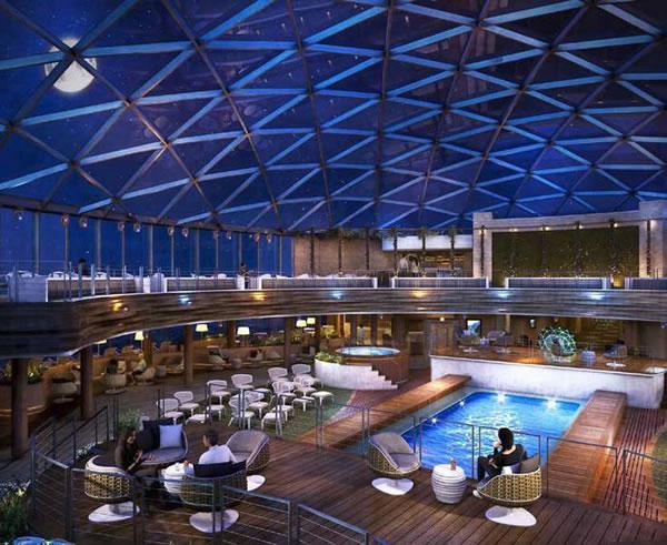 Trosifol® Case Study: SkyDome Cruise Ship