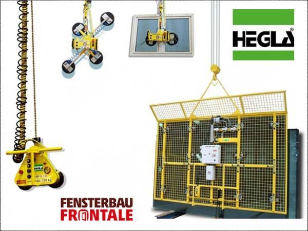 HEGLA: Storage, handling, logistics, and digitisation the focus at Fensterbau