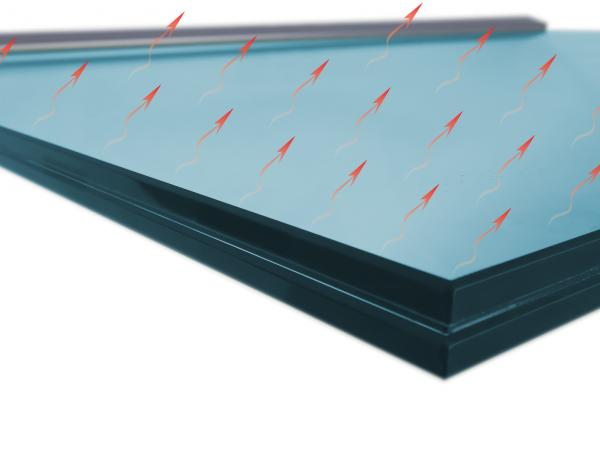 Formator: HeatVision® as snow-melting system for overhead glazing