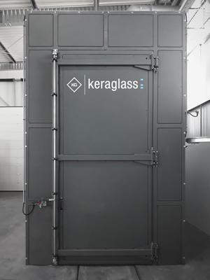 Keraglass Installs Heat Soak Test Furnace for Tempered Glass