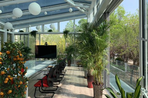 Modern Glass Sun Room by NorthGlass
