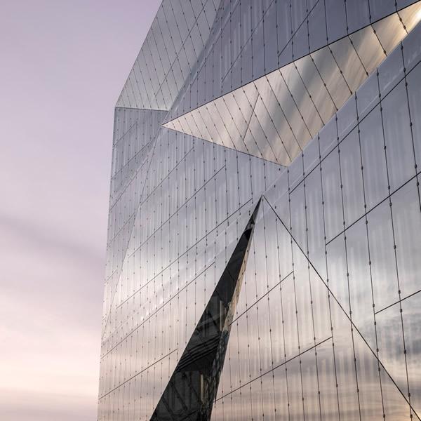 cube berlin: Double skin façade