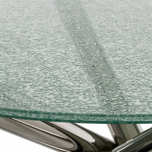 5 5 5mm Cracked Ice Glass Table Tops 5 5 5mm Clear