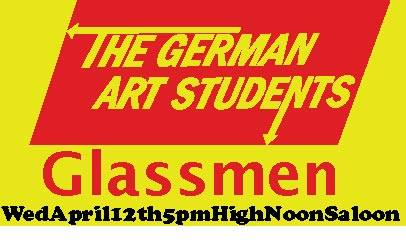 Glassmen and GAS at High Noon Saloon 4-12-17