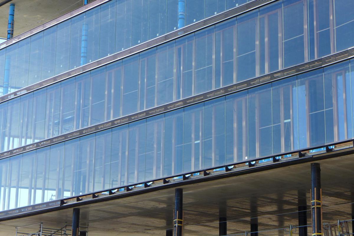 Façade view Erste Group Wien © Henke Schreieck Architekten, Vienna