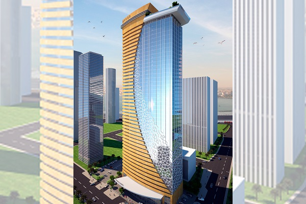 New residential tower with ceramic facade cladding | Sistema Masa