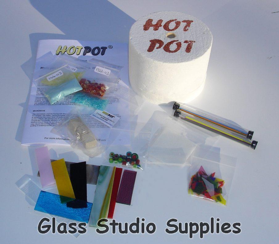 hotpot maxi microwave kiln and sample kit