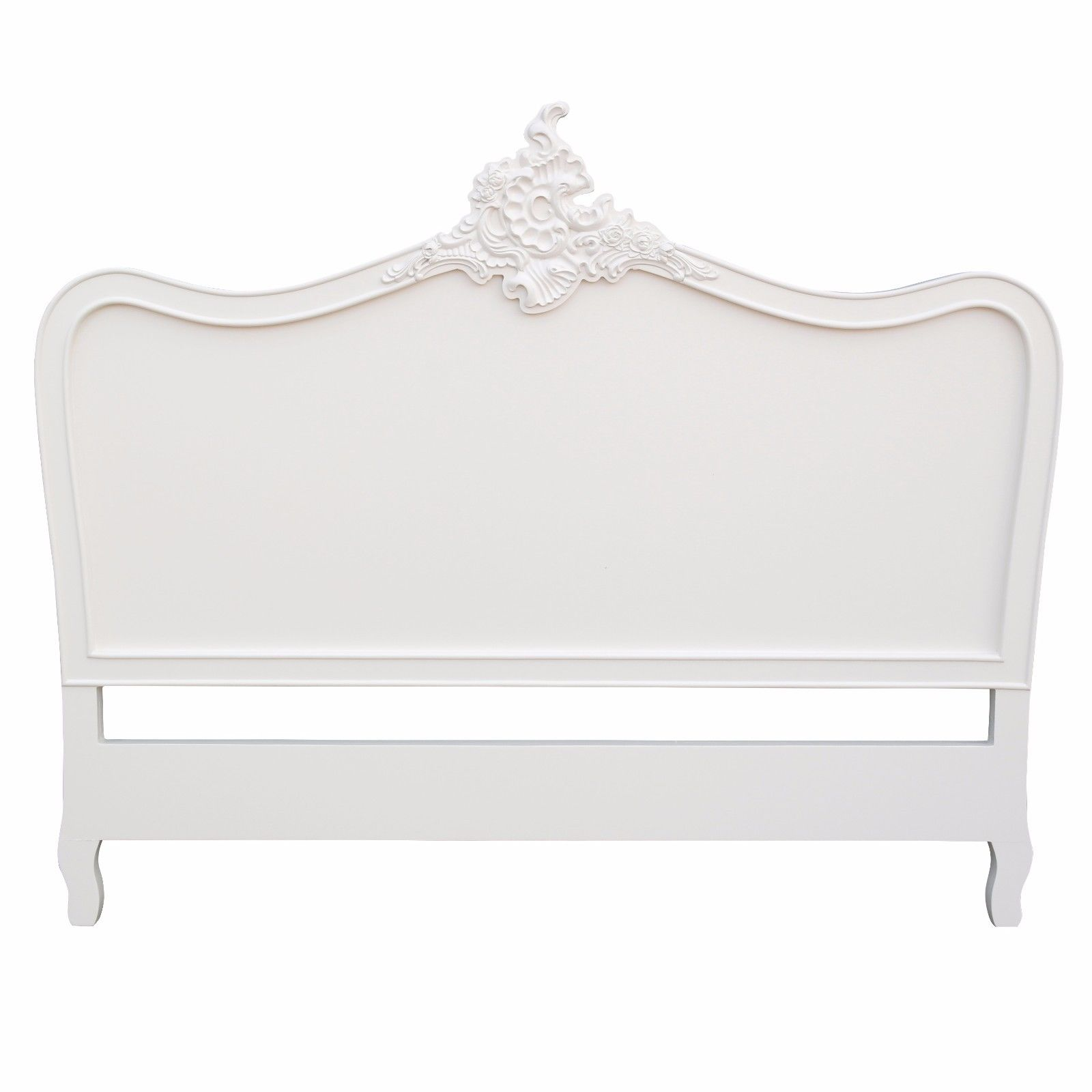 French Cream 4ft6 Double Size Headboard