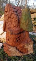 Bark-House-With-Tree