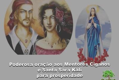 Poderosa oração aos Mentores Ciganos e Santa Sara para prosperidade
