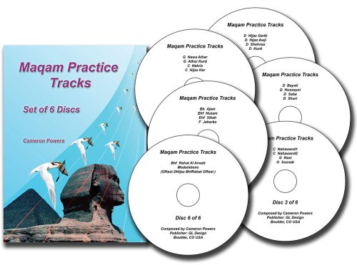 Maqam Practice Tracks with 6 CDs