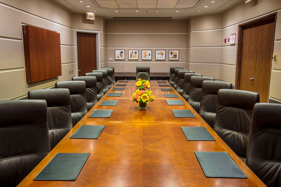 Large Executive Boardrooms The University of Chicago