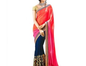 party wear style saree