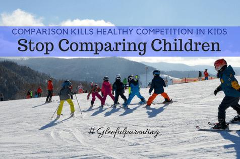 Comparison – Kill the Comparison not Competition