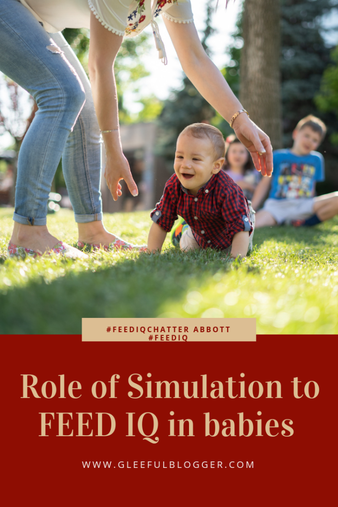 need and role of cognition development in babies. The need of simulation is crucial for infants to connect with the surroundings.