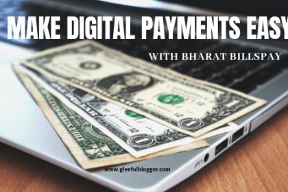 Digital payments by bharat billspay