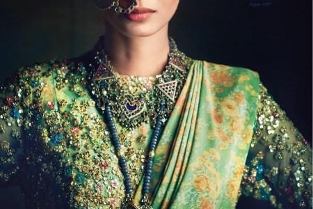 Silver fashion jewelry bollywood style