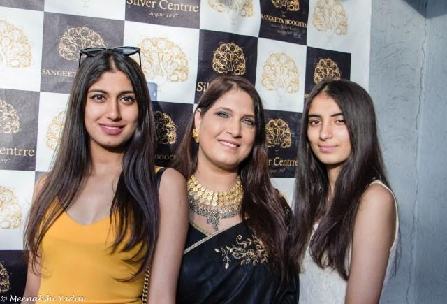 Sangeeta Boochra Silver Centrre Bangalore store launch