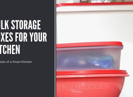 Essentials of an Organized Kitchen – Storage Boxes