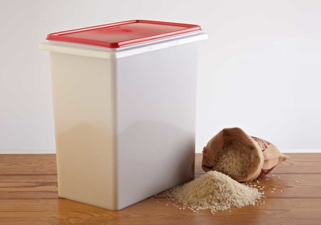 Tupperware Bulk Rice container