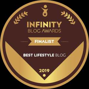 Infinity Blog Awards Finalist