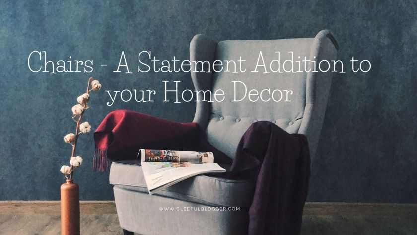 Chairs for home decor