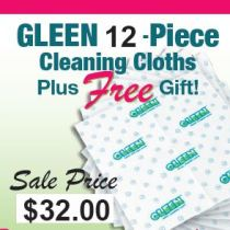 GLEEN Spring 12 Piece Cloth With One FREE Gift