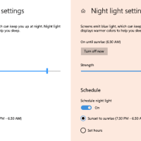 Enabling Night Mode for Display Link Docks