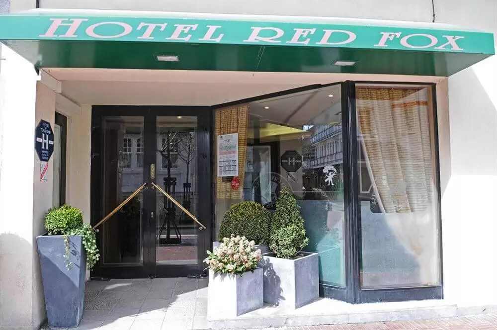 The Red Fox Hotel, Le Touquet, Northern France