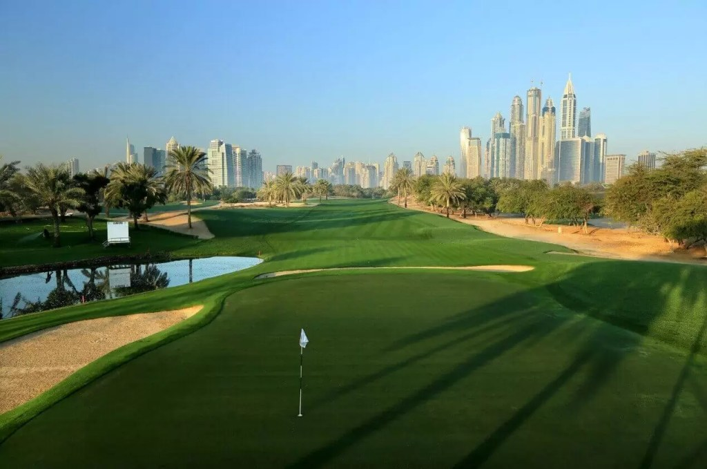 The Emirates Golf Club – Faldo Course, Dubai