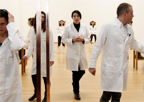 Marina Abramovic attends 'The Abramovic Method'
