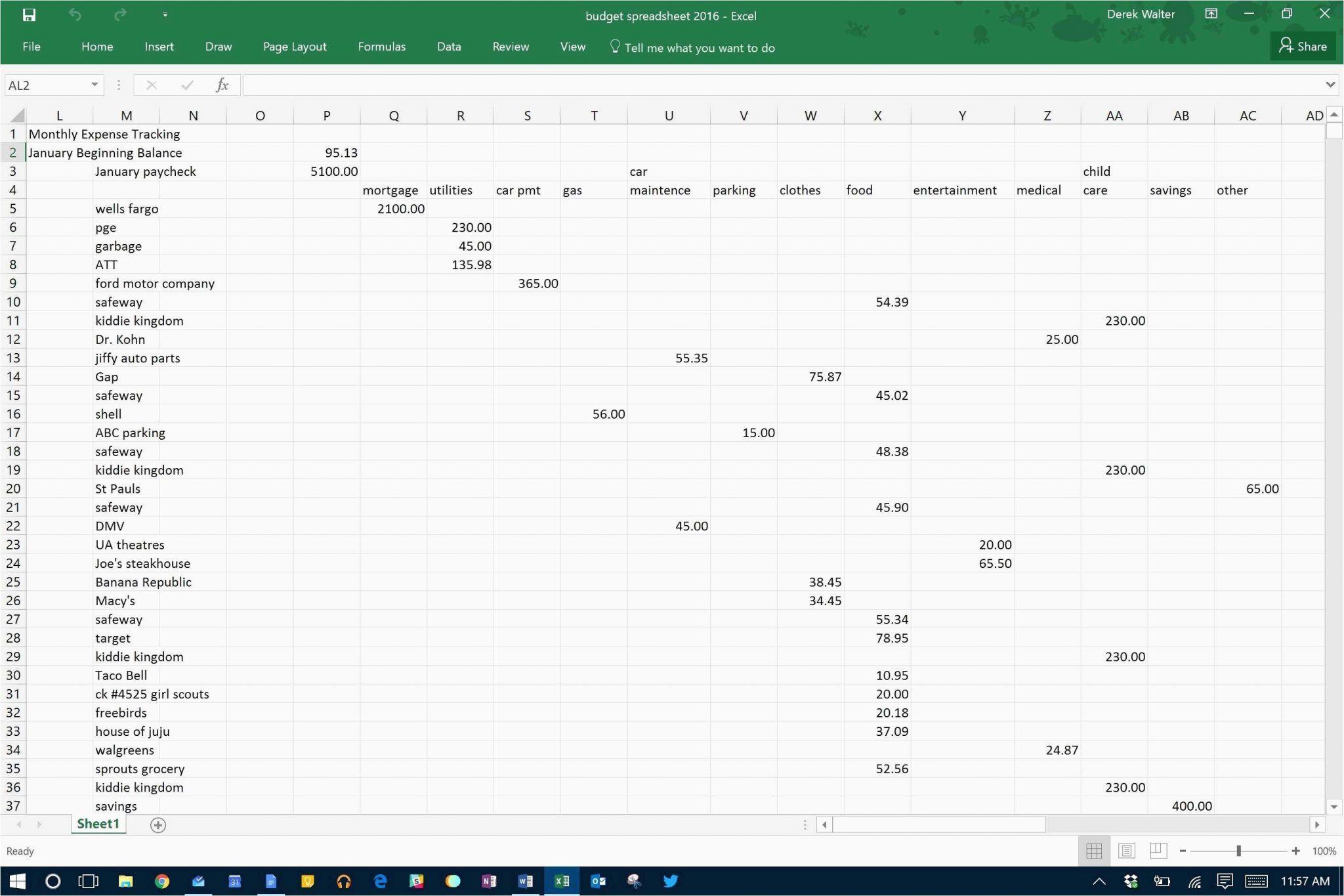 Donation Calculator Spreadsheet