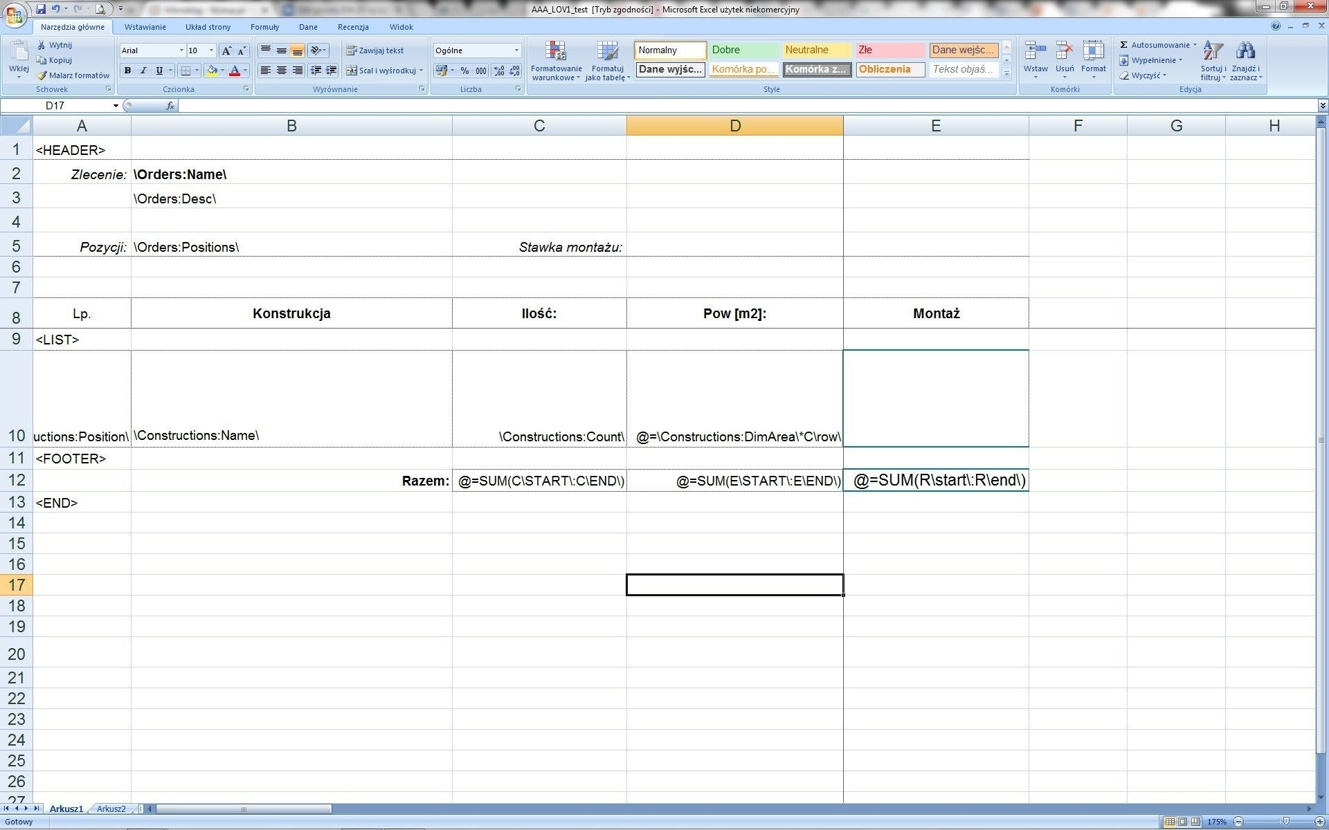 Excel Worksheet Cells C