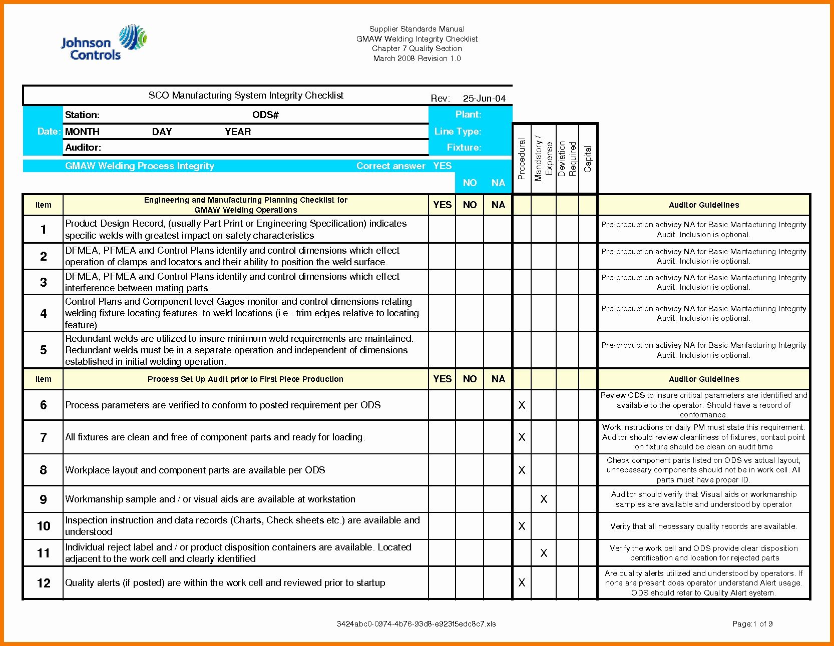 Iso 9001 2015 Audit Checklist Excel Xls from i1.wp.com