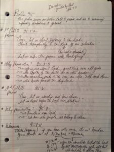 Psalm95outline